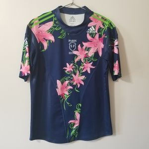 Adidas - tropical rugby jersey
